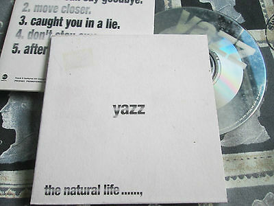 Yazz ‎– The Natural Life Label: EastWest ‎–PRCD 481  Promo UK CDAlbum Sampler