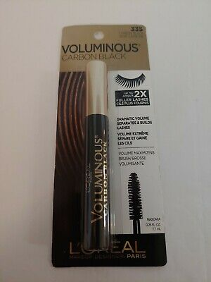 dcec016eafa L Oreal Paris Voluminous Carbon Black Mascara 335 Carbon Black 0.26 Ounce