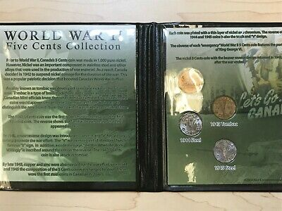World War II Five Cents Collection – First Commemorative Mint