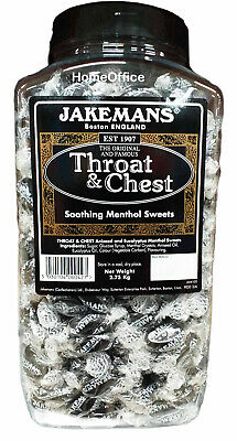 Jakemans Chest And Throat Menthol Sweets 2.75Kg Tub