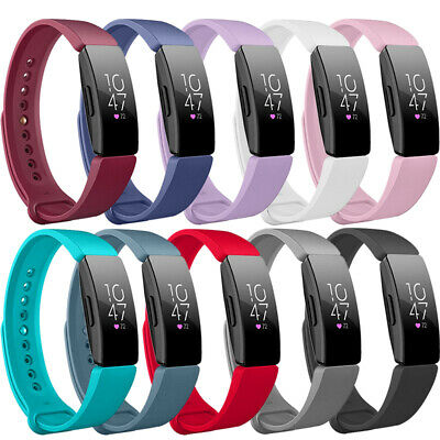 Replacement Silicone Waterproof Smart Bracelet Wrist Band for Fitbit Inspire HR