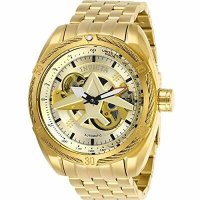 Invicta Men's 28211 Aviator Automatic 3 Hand Gold Dial Watch