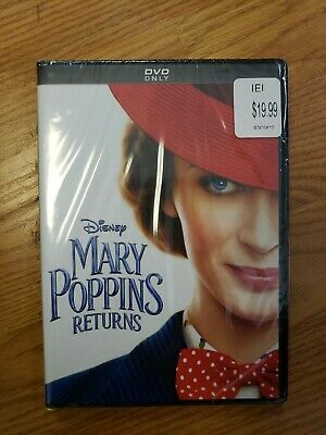 Mary Poppins Returns (DVD,2018)