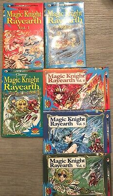 Manga Clamp Magic Knight Rayearth 1996