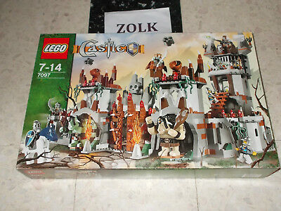 LEGO 7097 CASTLE FORTERESSE des TROLLS CHATEAU CHEVAL NEUF SCELLE 10 figurines