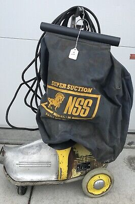 "National Super Service NSS M-1 ""PIG"" Commercial canister Vacuum Heavy Duty VTG"