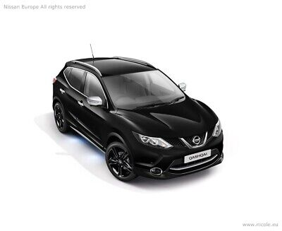 Nissan Qashqai J11 Side styling Bars,Illuminated RRP £572.56 KE5434E530 NEW