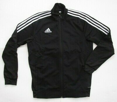 Men's Adidas Tiro19 Training Track Jacket, New Black White All DJ2594 Sport Sz M