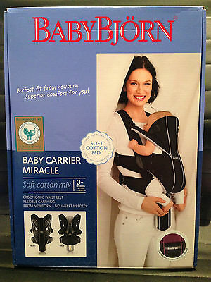 Babybjorn Baby Carrier / Portabebes Miracle