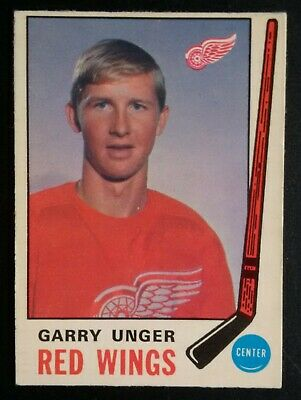 1969-70 OPC O-Pee-Chee Hockey #159 Garry Unger Detroit Red Wings