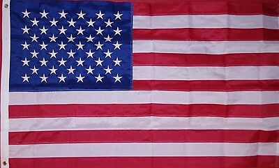 PREMIUM 3'x5' HIGH WIND RESISTANT AMERICAN FLAG MADE IN THE USA HOME OR BUSINESS