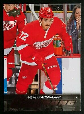 2015-16 UD Upper Deck Hockey YG Young Guns #458 Andreas Athanasiou RC Rookie