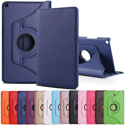 Folio Rotating Leather Case For Samsung Galaxy Tab A 8.0 T380 T387 SM-T350 Cover