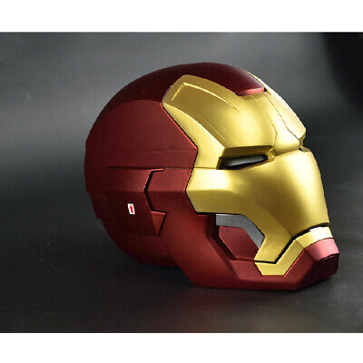 1:1 MK42 Fine Replica Full Metal Iron Man With LED eye Helmet Remote Control