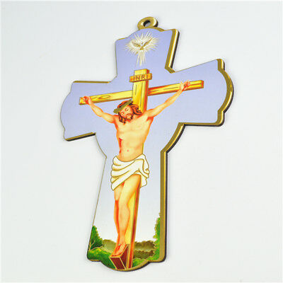Wooden Religious Holy Jesus On The Cross Crucifixes Picture