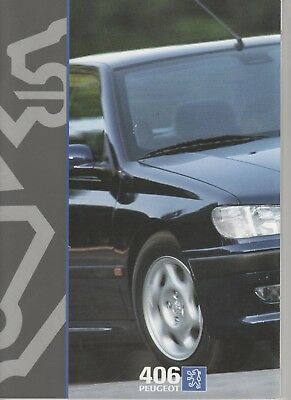 Prospectus - Catalogue PEUGEOT 406 1995