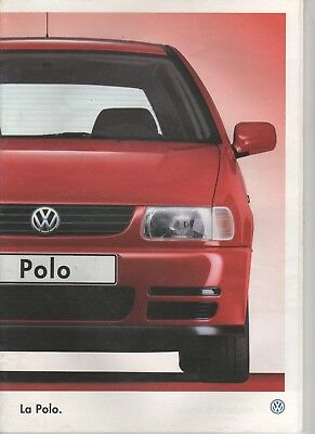 PROSPECTUS - CATALOGUE VW Polo Juillet 1996