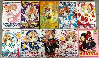 Manga Clamp Card Captor Sakura + anime comics 1999