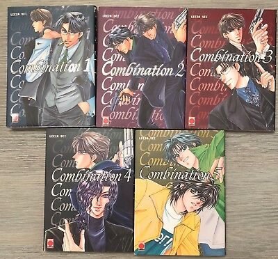 Manga Combination 5vol Leeza Sei 1ère edition 2002 Generation Comics