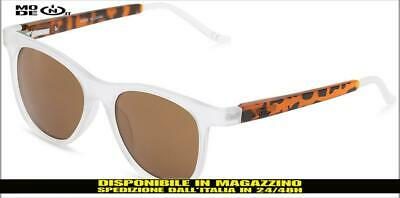 Occhiali da sole Vans sunglasses Elsby Shades Clear Frosted bianco opaco