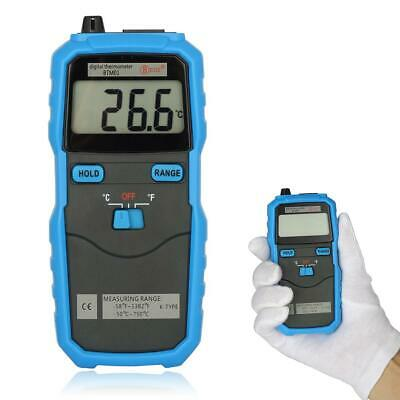 New BSIDE BTM01 Digital 1.77IN 2-Channel Handhold K-Type Temperature Thermome DI