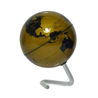 World Globe Earth Ocean Map Self-Rotating Geography Educational Office Decor DI