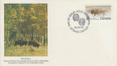 Canada #884 35¢ Endangered Wildlife On Fleetwood Cachet First Day Cover