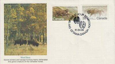 Canada #883-884 Endangered Wildlife On Fleetwood Cachet First Day Cover