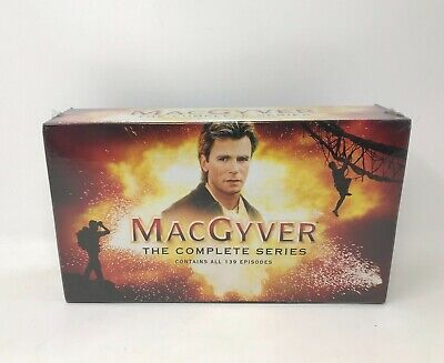NEW MacGyver - The Complete Series DVD Collection [Region 1] Sealed