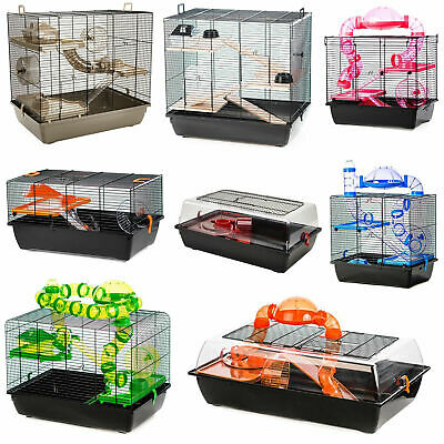 Pet Ting Hamster Cage Large Small Mouse Gerbil Tubes High Quality Cages