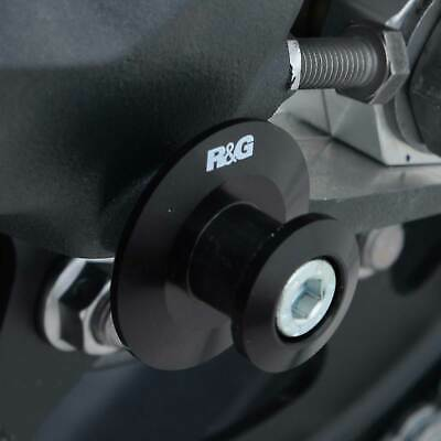 R&G Racing M6 Elevation Paddock Stand Bobbins - Black Suitable for Triumph Stree