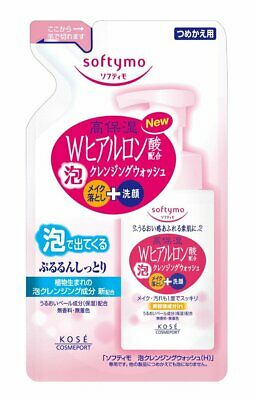 KOSE Softymo bubble bubble Cleansing Wash H hyaluronic acid Refill