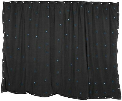 1 x 2m Black Star Cloth with 36 White LEDs