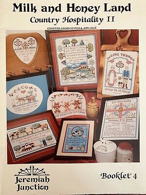 Jeremiah Junction Booklet 4 Milk And Honey Land Country Hospitality 1984