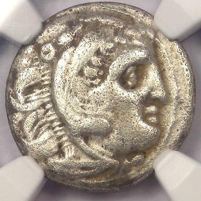 Alexander the Great III AR Drachm Lysimachus Coin 336 BC - Certified NGC VF!