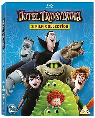 Hotel Transylvania 1 2 3 Movie Collection [Blu-ray Region Free Monster Vacation]