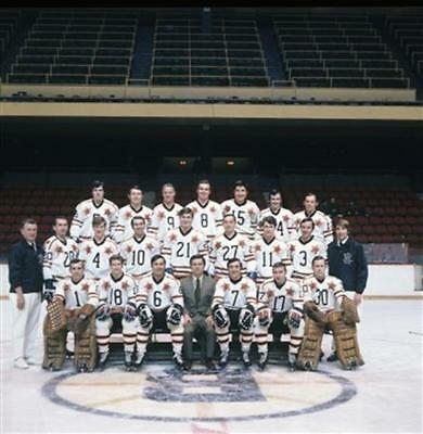 1971 NHL All-Star Game East Division 8x10 Photo