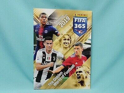 "Panini Fifa 365 ""2019"" Sticker Album Sammelalbum Internationale Version"