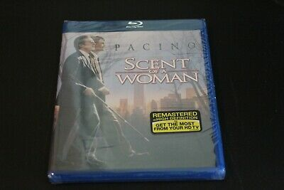Scent of a Woman [Blu-ray] New, Sealed! Al Pacino, Chris O'donnell