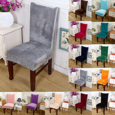 PU Leather Chair Covers Wedding Dining Chair Cover Home Slip Covers 1//4//6//10 PCS