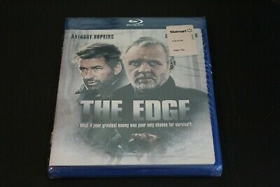The Edge Blu-Ray New, Sealed! Anthony Hopkins, Alec Baldwin