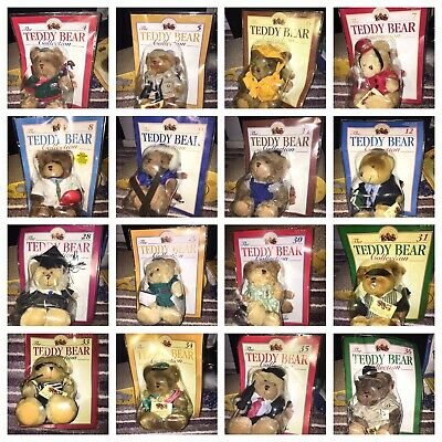 The Teddy Bear Collection - Collection of 30 Teddies with Magazines