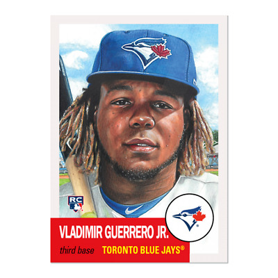 2019 Topps Living Set Vladimir Guerrero Jr Rookie Card Rc #179 Ready To Ship