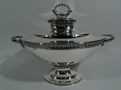 Tiffany Tureen - 472 - Early Antique Greek Revival - American Sterling Silver