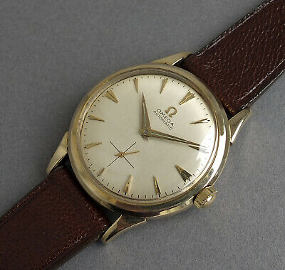 OMEGA 10K Gold Filled Gents Vintage Automatic Watch 1956