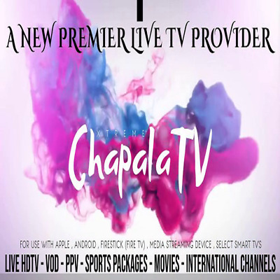 We are the best in the biz with 24/7 support - 1 MONTH PREMIUM IPTV SUBSCRIPTION
