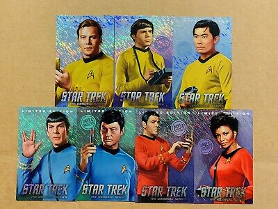 Dave and Buster's Star Trek  Limited Editions Set Without Tribbles