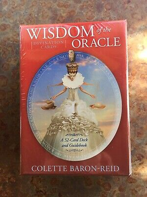 Wisdom of The Oracle Cards Colette Baron-Reid NEW! NEVER OPENED!
