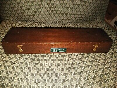 Vintage Keuffel & Esser Leroy Lettering Set in Box*Drafting Extras*Estate Find