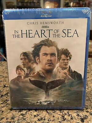 In the Heart of the Sea (Blu ray) *Factory Sealed* Chris Hemsworth